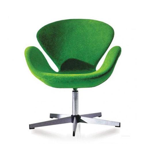 Maple designer lounge chair
