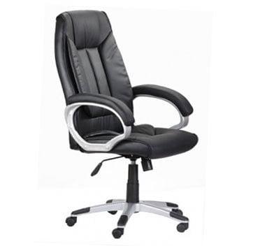 alpha chair black