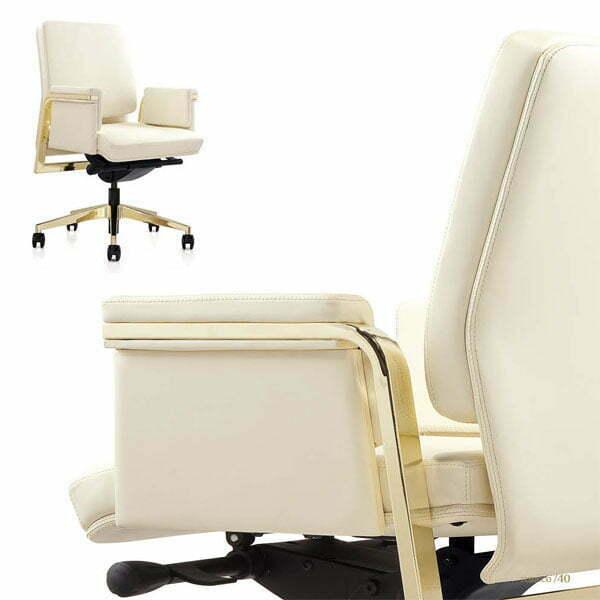 elite white office chair