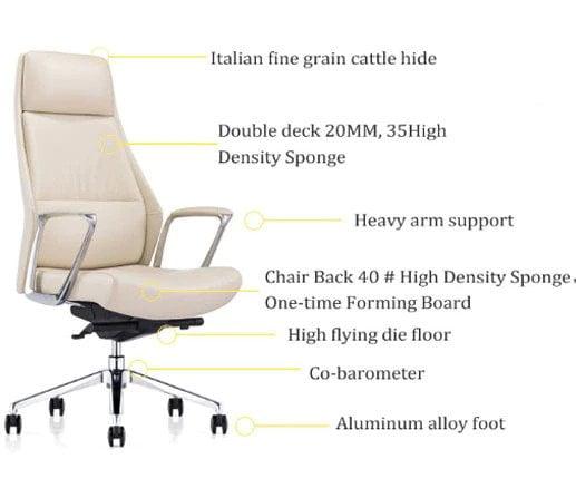 cream boss chair