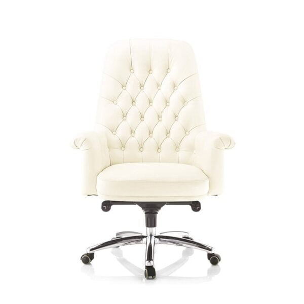 persia white office chair