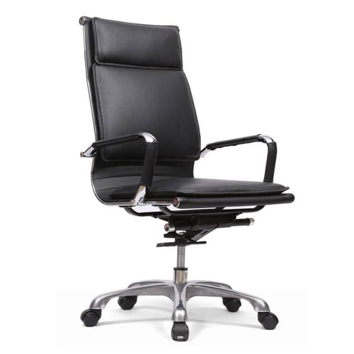 streaks high back chair