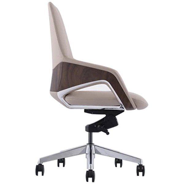sleek designer chair