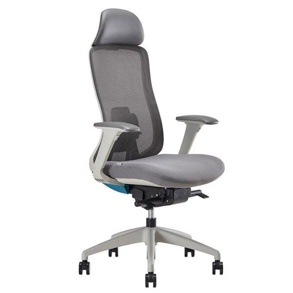 ergonomic white chair