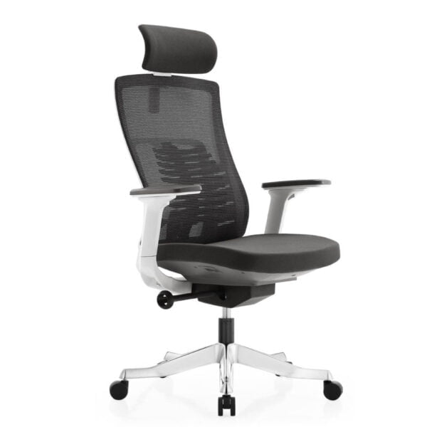 Inspire chair black with white frame