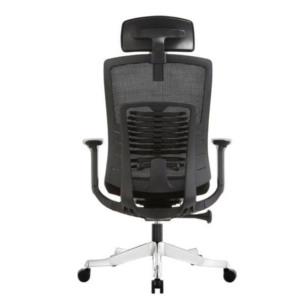 Inspire cushion seat black office chair 1